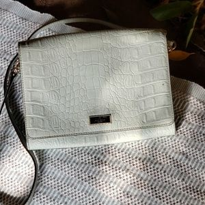 Kate Spade turquoise crossbody bag